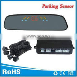 Good selling Car parking system parking sensor with Led display and 4 rear sensors