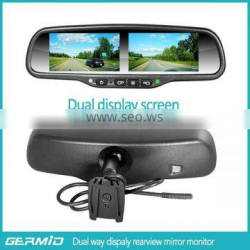 4.3 inch car mirror monitor,car rear view mirror monitor,car lcd monitor