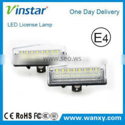 LED Number Plate Lamp for Prius E4 LED Car Lights License Lamp