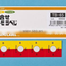 Temperature checker for electrical connecting terminal/Detecting abnormal temperature increase/Made in Japan