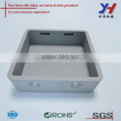 OEM ODM Custom Aluminum Die Casting Switch Holder for Electrical Appliance