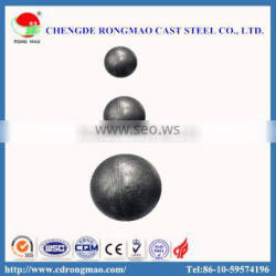 30mm Dia Hot Rolled Grinding Media Steel Balls For Mineral Processing And Cement
