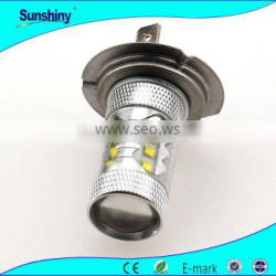 Factory price specialty suitable used for car H4 H7 15cree 12V 75w fog light
