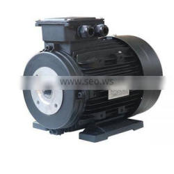 230 Volt Hollow Shaft Motor 2hp / 1.5 Kw 1450rpm 24mm Single Phase Pole B3