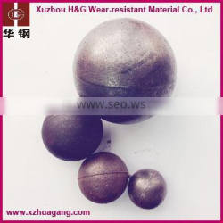 low consumption grinding media steel ball for ball mill