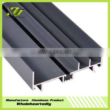 Fashionable decoration aluminum profile extrusion for windows and doors