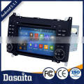 7 inch Android 5.1.1 Capacitive Screen car dvd GPS navigation for Benz