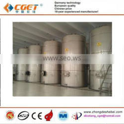 stainless steel tank with agitator for making juice
