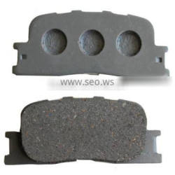 China car spare parts of ceramic brake pad