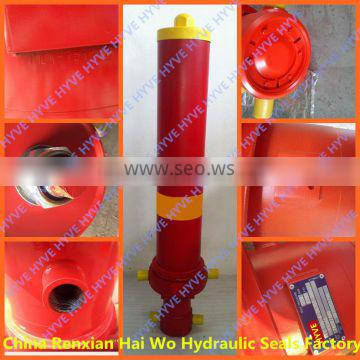 Dump truck telescopic hydraulic cylinder with low price
