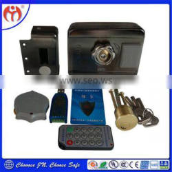 Made in China wholesale High Quality Product Door Lock Trustworthy JN918 Card Access Remote Control Electric Rim Lock
