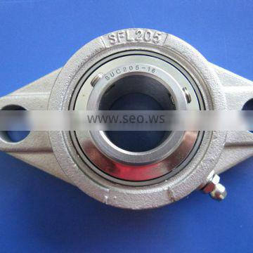 17 mm Stainless Steel Flange Bearing Unit SUCFL203 Equivalent SSUCFL203 2 Bolt Mounted Bearings