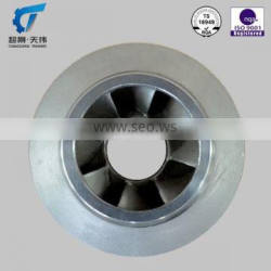 cnc machining impeller for centrifugals design centrifugal pump impeller