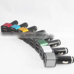 High quality machine grade 3.1a usb car charger With ISO9001 Certificate
