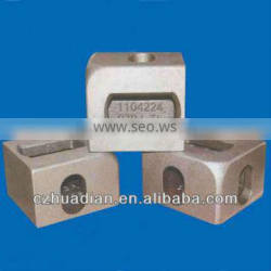 Shipping container casting corner,ISO1161 standard container fitting for sale