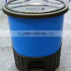 Plastic high quality 8 litres garbage bin from China JYPC