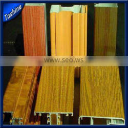 2014 Hot Sell Wood Grain Color Shift Window and Door Aluminum Profile