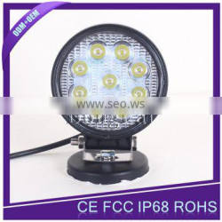 Super Bright 10V-30V High Power Waterproof Auto 12V 27W LED Driving Work Light