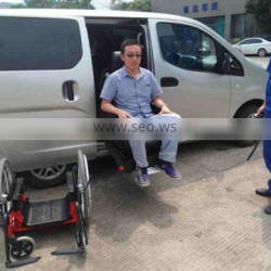WCL swivel and lift seat carrying wheelchair for disabled and elder made in China