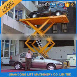 cheap residential scissor car lift elevator with CE