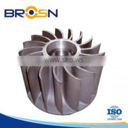Customized CNC stainless steel impeller vacuum cleaner impeller