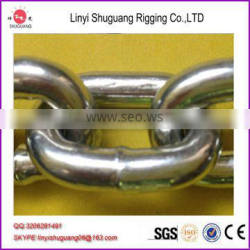 G30 DIN766 Link Iron Steel Transmission Conveyor Chain With Galvanized Surface