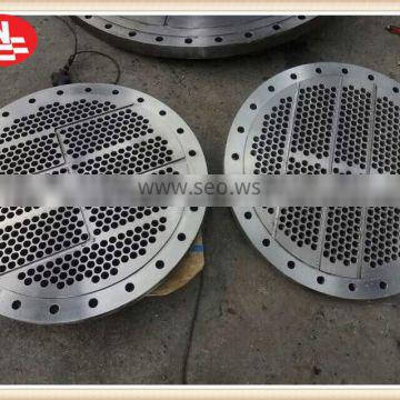 stainless steel customized forged certificated tube sheet