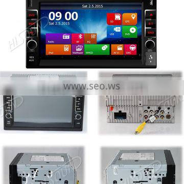 Win CE 6.0 System car multimedia and navigation system with gps /dvd/ usb /aux