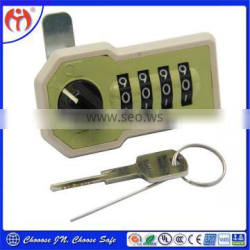 Cabinet door digital mechanical combination locks with master key JN517