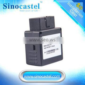 3g Mini car&truck satellite tracing OBD GPS Tracker and software for fleet management