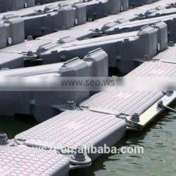 Solar floating dock/specai shape floats for floating solar system