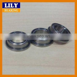 High Performance Low Friction Miniature Ball Bearings Flange