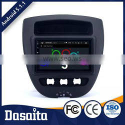 Cheap Efficient Heat Dissipation touch screen car dvd player with GPS for toyota