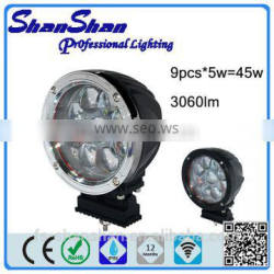 Wholesale supplies 45W led work light 9-80V Cree LED Work Light for ATV