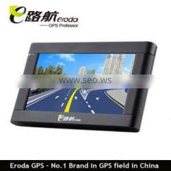 Eroda 4.3 inch GPS navigation with compass on the top