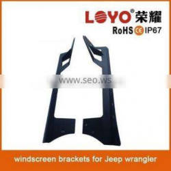 Cheap high quality led light bar bracket universal 50inch 52w offroad lights with steel brackets