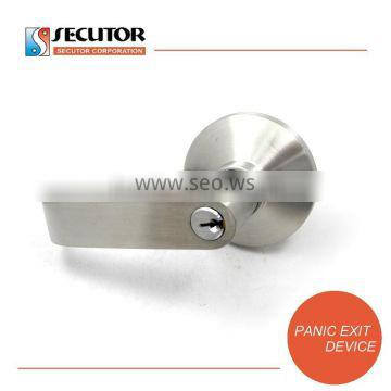 Stainless Steel Lever Handle for Panic Door Access System