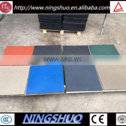 Trade Assurance Recycled Rubber Flooring Paver Tiles, Exterior Rubber Tiles