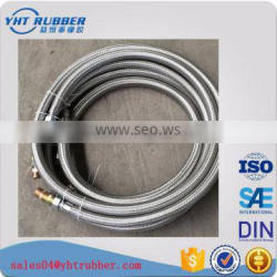 High quality flexible stainless steel 304 braided corrugated metal hose