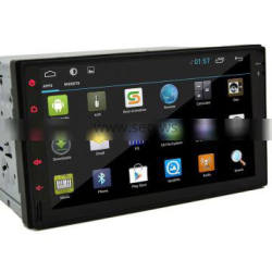 9 Inch Wifi Android Double Din Radio 1080P For VW Skoda