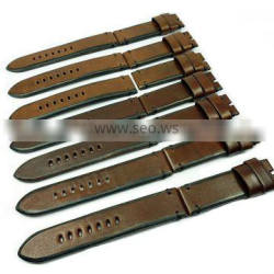 Superb Quality Italian Vintage Leather 100% Hand Made Watch Straps