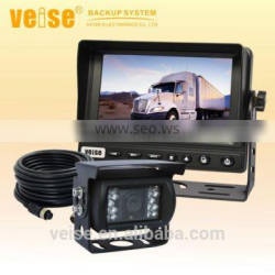 truck car video camera driving safety system with high resolution monitor