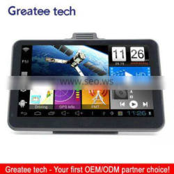 7.0 inch tablet car gps navigation dual carmera capactive screen optional
