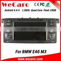 Wecaro WC-BW7019 Android 4.4.4 car dvd player for BMW E46 M3 1998 - 2005 with radio 3G wifi playstore