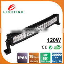 Good quality 120w curved led light bar