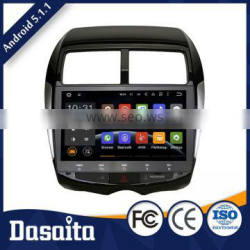 10.1 Inch OBD2 car radio dvd with gps mirror for mitsubishi