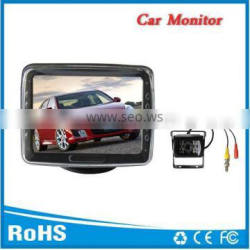 4.3inch car parking monitor with night vision camera for truck
