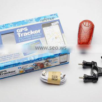 real time tracking waterproof mini hidden spy gps bike tracker