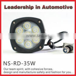Super Bright Auxiliary lights New 35w led motorcycle light motorcycle auto driving light flood beam spot beam worklight