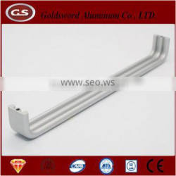 polished silver aluminum handle for factory directly price